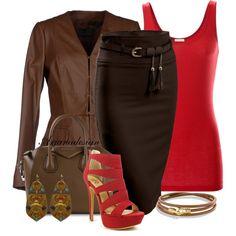 """David Yurman Leather Wrap Bracelet"" by arjanadesign on Polyvore"