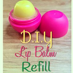 Fresh Picked Beauty: D.I.Y Refill for Egg Shaped Lip Balms