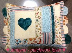 Pillow - Janayna: patchwork lover!