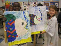 Jamestown Elementary Art Blog: 1st grade