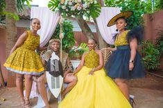 A Zulu And Tswana Wedding