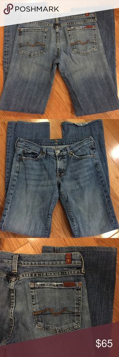 7 For All Mankind Jeans 7 For All Mankind Jeans. Size 28; bootcut. Excellent used condition. Offers considered 7 For All Mankind Jeans Boot Cut