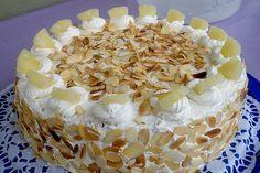 Ananas - Sahne - Torte, ein schmackhaftes Rezept aus der Kategorie Torten. Bewertungen: 18. Durchschnitt: Ø 4,1.