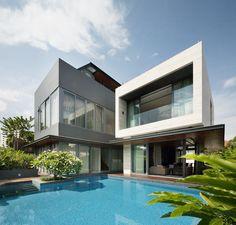 Travertine Dream House by Wallflower Architecture + Design   DesignRulz.com