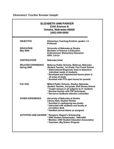 Objective For Teaching Resume Glamorous Resume Objective Statements  Teacher In Me  Pinterest  Resume Inspiration