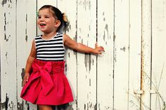 Isn't this CUTE?  Can't wait to try to make one myself, the dress....I have already made two cute little girls.  ;)