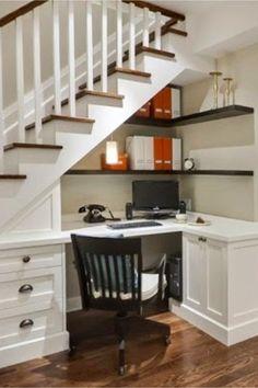 34 best office under stairs images fold away desk living room desk rh pinterest com