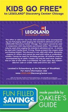 Lego my COUPON!  Kids go FREE at Legoland Kids Go Free, Local Coupons, Legoland