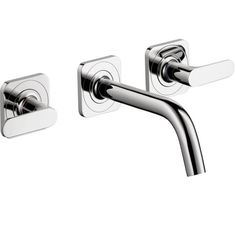 Hansgrohe Axor Citterio M Widespread Wall-mounted