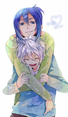 No. 6 ~~ Huggle! :: Shion and Nezumi