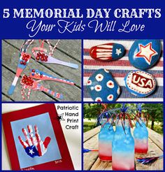 5 Fun Memorial Day Crafts For the Kids