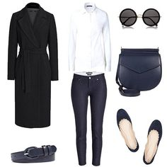 MINIMAL + CLASSIC: Outfit by Fashion Landscape   @blogandthecity