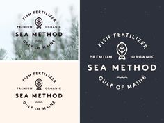 Final logo for a really cool client in Portland, Maine.