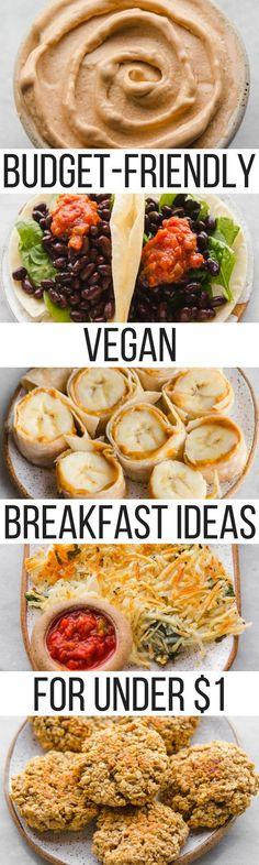 Budget Friendly Vegan Breakfast Ideas