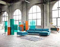 Scandinavia sofa designed by duo Glismand & Rüdiger