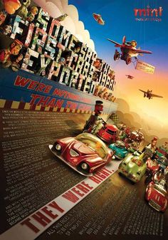 mint museum of toys cars poster #design