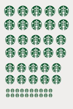 mini starbucks cup print out shot glass size birthday gifts