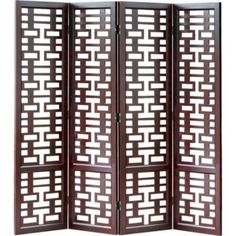 chinese wooden room dividers