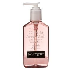 Neutrogena Oil-Free Acne Wash Pink Grapefruit Facial Cleanser ($6.99): For an OTC product, this packs a major punch with 2% salicylic acid. Unlike most medicinal washes, this one is legitimately pleasant to use. A beta hydroxy acid, salicylic acid dissolves in oil so that it can sink into pores to unclog them. Not a face-alone product, this can easily be used on a pouf in the shower to treat body acne or on areas with ingrown hairs. Leave on for 2-5 grapefruit-scented minutes for best…