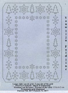 T T Christmas grid pattern trees and snowflakes
