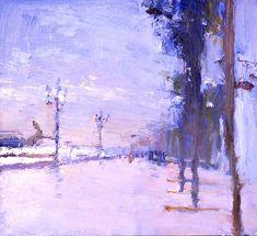 Winter air of Yalta - Peter Bezrukov - Russian Fine Art