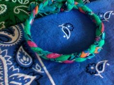 Hot Summer Crafts for Teens & Tweens: Braided Bandana Jewerly - Yahoo! Voices - voices.yahoo.com