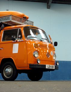 Orange VW Bus | Flickr - Photo Sharing!