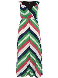 SAMYA STRIPE PRINT MAXI DRESS  Price:£40.00
