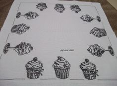 Black and white cupcakes.