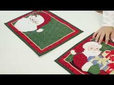 Quer aprender a fazer um lindo jogo americano natalino? Acompanhe aqui no Programa Evidência. - YouTube