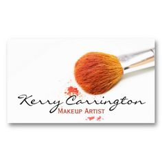Shop Makeup business cards created by inspirationzstore. Business Pens, Makeup Artist Business Cards, Business Card Case, Business Card Design, High Quality Business Cards, Business Holiday Cards, Elegant Business Cards, Makeup Artist Logo, Name Card Design