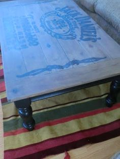 Jack Daniels Table Re-do