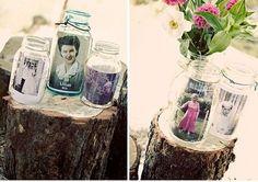 Jar Photos #centerpieces