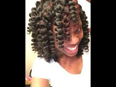 Crochet braids straight hair,neatly done Part 2 - YouTube