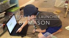 Cotton Ball Launcher   Dr. E's WeDo Challenges