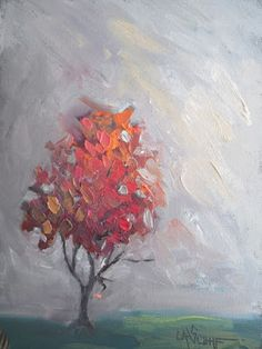 Where ART Lives Gallery Artists Group Blog: Small Oil Painting, Tree Painting…