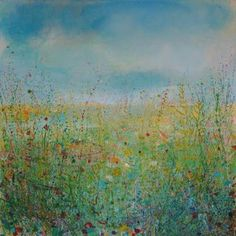"Saatchi Art Artist Sandy Dooley; Painting, "" Springscape (sold)"" #art"