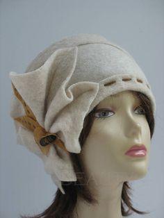 f025ef87a49 Small Wool Hat Chemo Hat Womens Winter Cap Warm Felt Hat Ladies Felt Wool  Hat Beanie Small Womens Winter hats Small size headpiece Chemo Hat