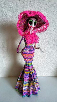 Day of the Dead..https://www.etsy.com/listing/456697084/day-of-the-dead-catrina-doll-sugar-skull