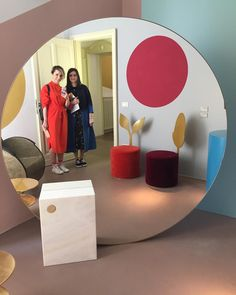 Projects we loved: Youth Editions Mirror and SecoloXXI Chairs in the 'Aesthetic Visions' Exhibition by Manfredi Style Thank you #Milan #Brera for being spectacular, as always! #daretorug #salonedelmobile18 #mdw2018 #interiordesign #home #productdesign #fuorisalone2018 #furniture #youtheditions #secoloxxi #manfredistyle