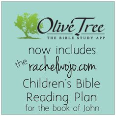 My children's printable Bible reading schedule is now available in the Olive Tree Bible Study app!!