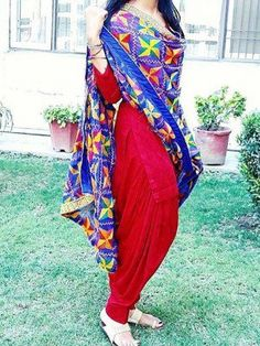 punjabi suits -whatsapp /punjabisboitique , punjabi salwar suit, patiala suis , party wear punjabi suits , international delivery available Indian Suits, Indian Attire, Indian Dresses, Indian Wear, Indian Clothes, Phulkari Punjabi Suits, Punjabi Dress, Phulkari Pants, Punjabi Girls