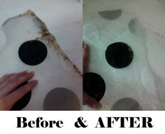 My American Confessions: How to Clean Plastic/Vinyl Shower Curtains/Bath Mats Like a Pro!