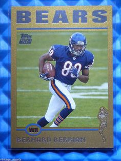 2004 #Topps #Football BERNARD BERRIAN Gold Rookie #Cards RC 383 /499 @Bears @Fresno_State #ChicagoBears #auctions