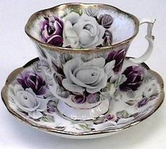 Royal Albert American Beauty Rose Teacup, You can enjoy morning meal or various time intervals using tea cups. Tea cups also have decorative features. Once you go through the tea pot designs, you will see this clearly. Tea Cup Set, My Cup Of Tea, Tea Cup Saucer, Café Chocolate, Teapots And Cups, China Tea Cups, Tea Time, Vintage China, Vintage Teacups