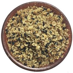Traditional ancient Egyptian dukkah, this toasted Walnut & Black Sesame blend is extremely versatile and delicious on bread with oil Dukkah Recipe, Salt Flakes, Crusted Salmon, Pan Seared Salmon, Black Sesame, Coriander Seeds, Egyptians, Dip Recipes, Sea Salt