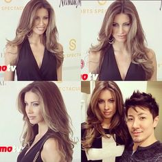 For when my hair gets long again!  Katherine Webb new cut and color by me in a red carpet event #MsAlabama #MsUSA #AJMcCarron