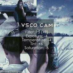VSCO Cam Filter Settings for Instagram Photos | Filter P5