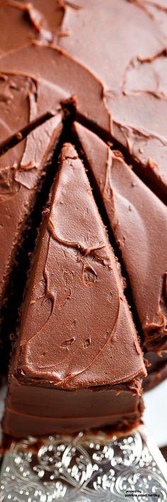 """Best Fudgy Chocolate Cake""."