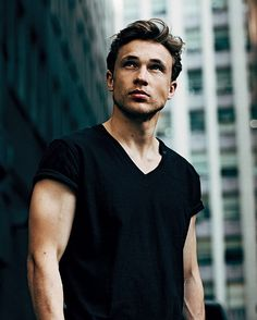 William Moseley - Men in Vogue. Well he grew up nice.